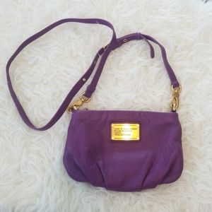 Marc by Marc Jacobs Purple Leather Crossbody